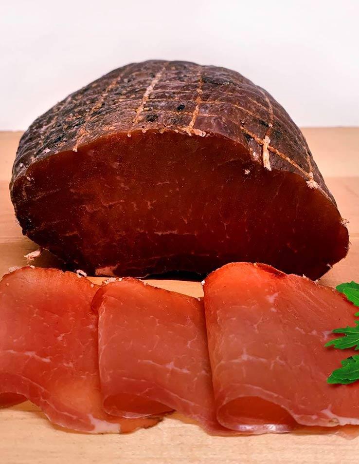 Gesundes Fleisch von einheimischen Tieren